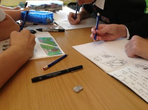 Illustrating storyboards